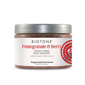 Biotone Pomegranate & Berry Perfect Grain Body Exfoliant - 12 oz - All Therapeutic