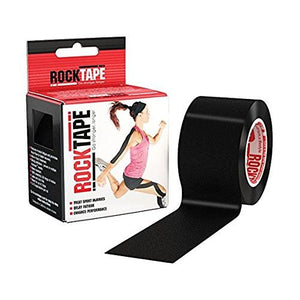 "2"" Black Pre-Cut Kinesiology Tape - All Therapeutic"