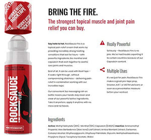 RockSauce - Hot Pain Relief and Tape Prep - All Therapeutic