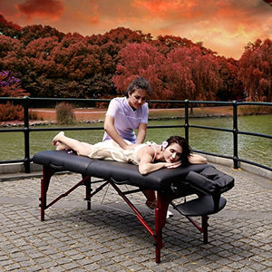 "Master Massage 31"" Extra Wide Montclair Pro Memory Foam Portable Massage Table Package with Reiki - All Therapeutic"