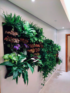 12 Pocket Indoor Waterproof Vertical Living Wall Planter - All Therapeutic