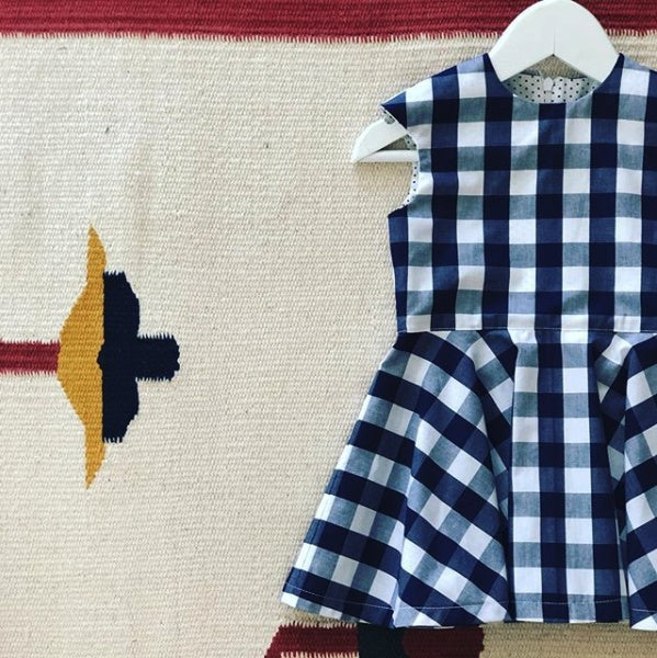 Outfit - Maria Gingham Dress