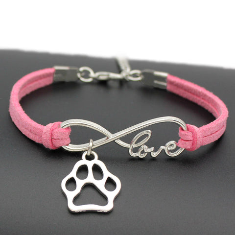 Infinity Love Paw Bracelet - DAX ACCESSORIES