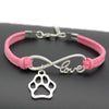 Image of Infinity Love Paw Bracelet - DAX ACCESSORIES