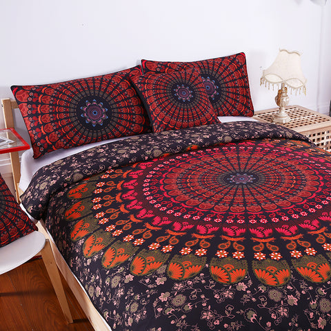 Bohemian Dark Bedding Set - DAX ACCESSORIES