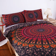 Bohemian Dark Bedding Set