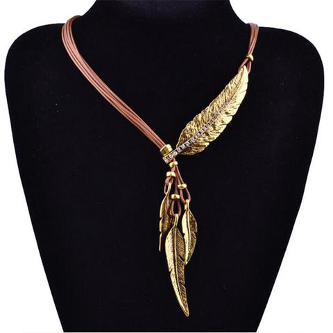 Feather Necklace of Truth - DAX ACCESSORIES