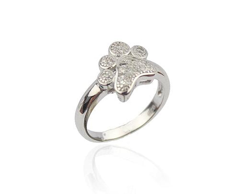 Silver Paw Ring - DAX ACCESSORIES