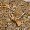 Image of Axe Brass Pendant - DAX ACCESSORIES