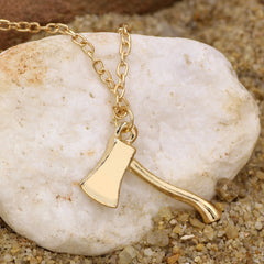 Axe Brass Pendant - DAX ACCESSORIES