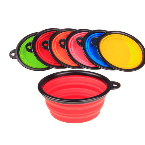 Collapsible Pet Bowl - DAX ACCESSORIES