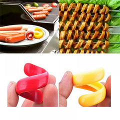 2Pc Spiral Sausage Cutter