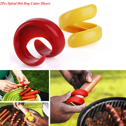2Pc Spiral Sausage Cutter - DAX ACCESSORIES