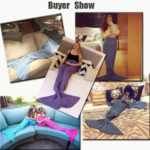 Hot Mermaid Tail Blanket - DAX ACCESSORIES