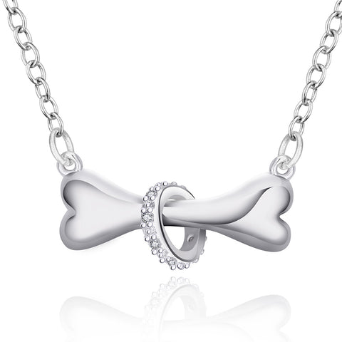 Dog Bone Necklace - DAX ACCESSORIES
