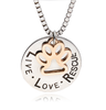 Image of LIVE LOVE RESCUE Necklace - DAX ACCESSORIES