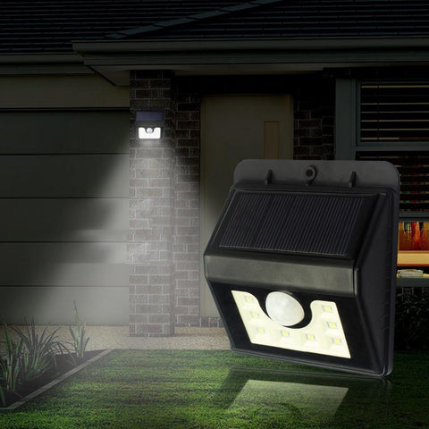 Solar LED Wall Light Motion Sensor - DAX ACCESSORIES