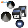 Image of Solar LED Wall Light Motion Sensor - DAX ACCESSORIES