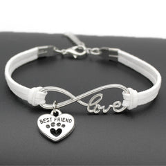 Best Friend Love Paw Bracelet