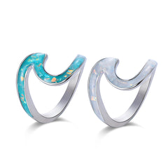 Opal Wave Ring - DAX ACCESSORIES