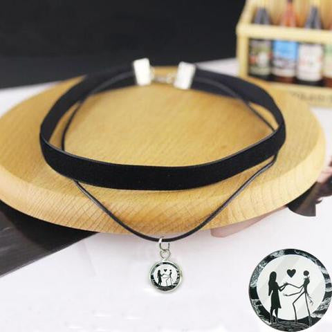 NEW JACK & SALLY CHOKER NECKLACE - DAX ACCESSORIES