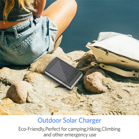 Solar Power Bank External Battery - DAX ACCESSORIES