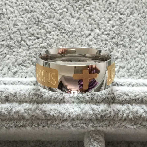 Jesus Titanium Ring - DAX ACCESSORIES