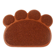 Dog Paw Shaped Placemat