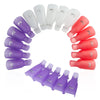 Image of 10PC Gel Polish Remover Clips - DAX ACCESSORIES
