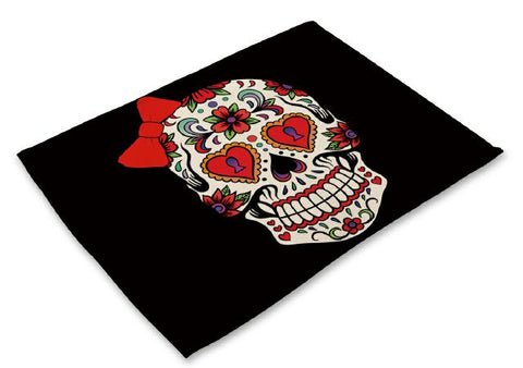 Skull Dining Table Placemat - DAX ACCESSORIES