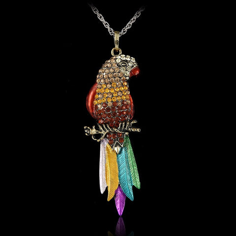 Long Parrot Pendant - DAX ACCESSORIES
