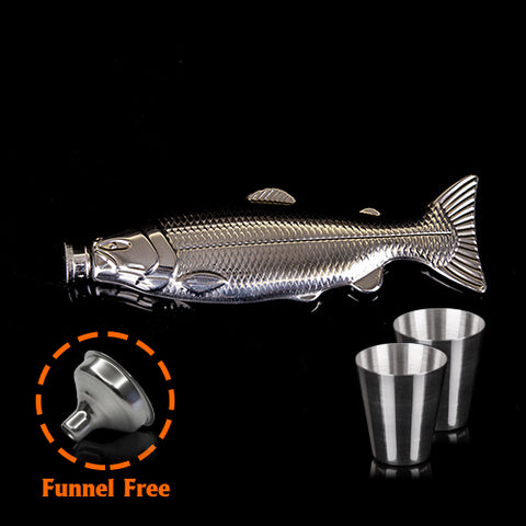 Fish Shaped Flask - DAX ACCESSORIES
