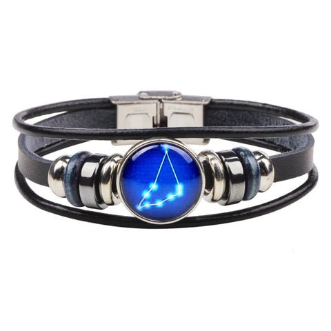 Blue Planet Zodiac Bracelets - DAX ACCESSORIES
