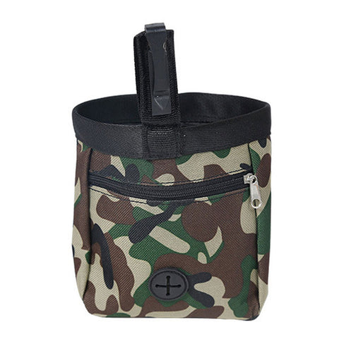 Camo Dog Treat Bag - DAX ACCESSORIES