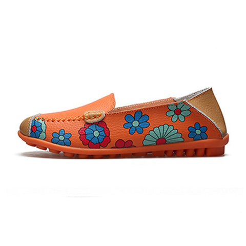 Floral Spirit Loafers - DAX ACCESSORIES
