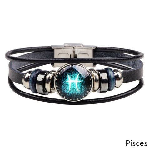 Green Eye Zodiac Bracelet - DAX ACCESSORIES