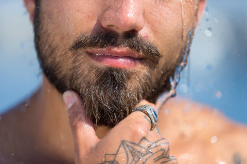 clean and condition your beard