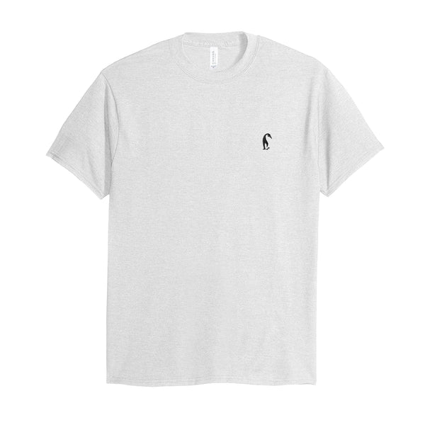 Team Svelte Embroidered Logo Tee (White)