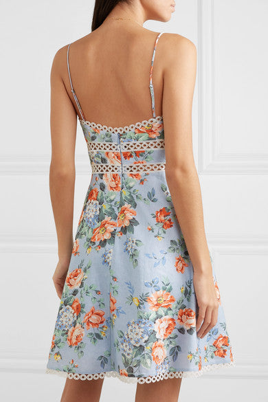 Bowie Sun Dress - Floral