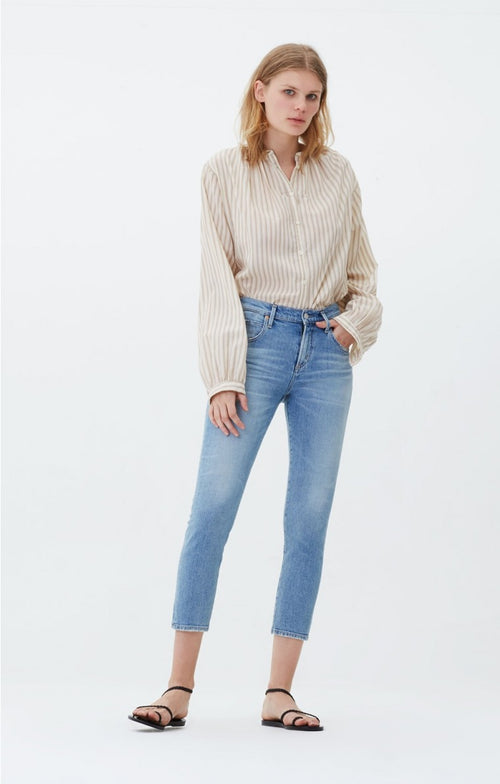 Elsa Mid Rise Slim Fit Crop - Renew