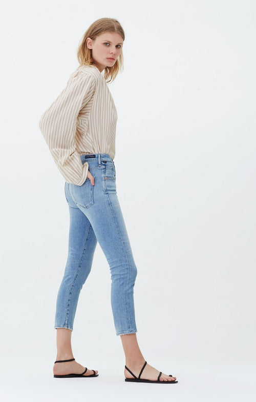 Elsa Mid Rise Slim Fit Crop - Renew , CITIZENS OF HUMANITY - Moda Boheme