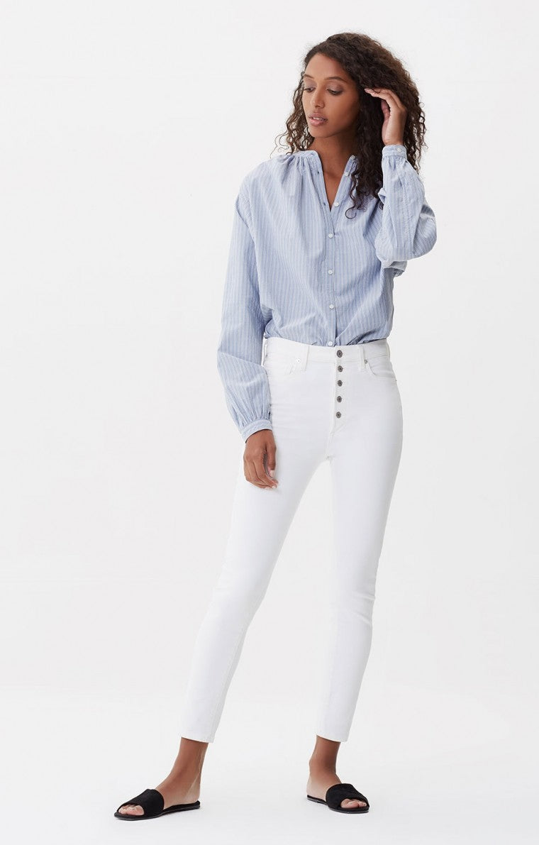 Olivia Exposed Fly High Rise Slim Ankle - Unveil