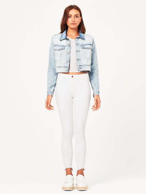 Shawn Cropped Boyfriend Jacket