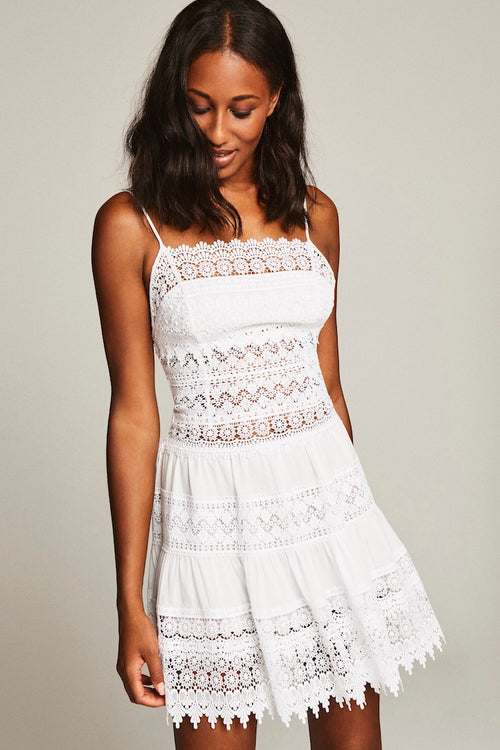 Joya Dress - Ibiza White