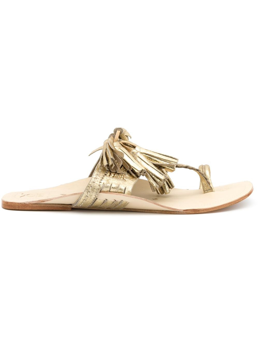 Scaramouche Sandal Gold