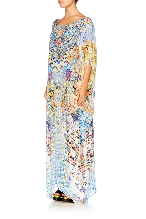 Girl Next Door Round Kaftan