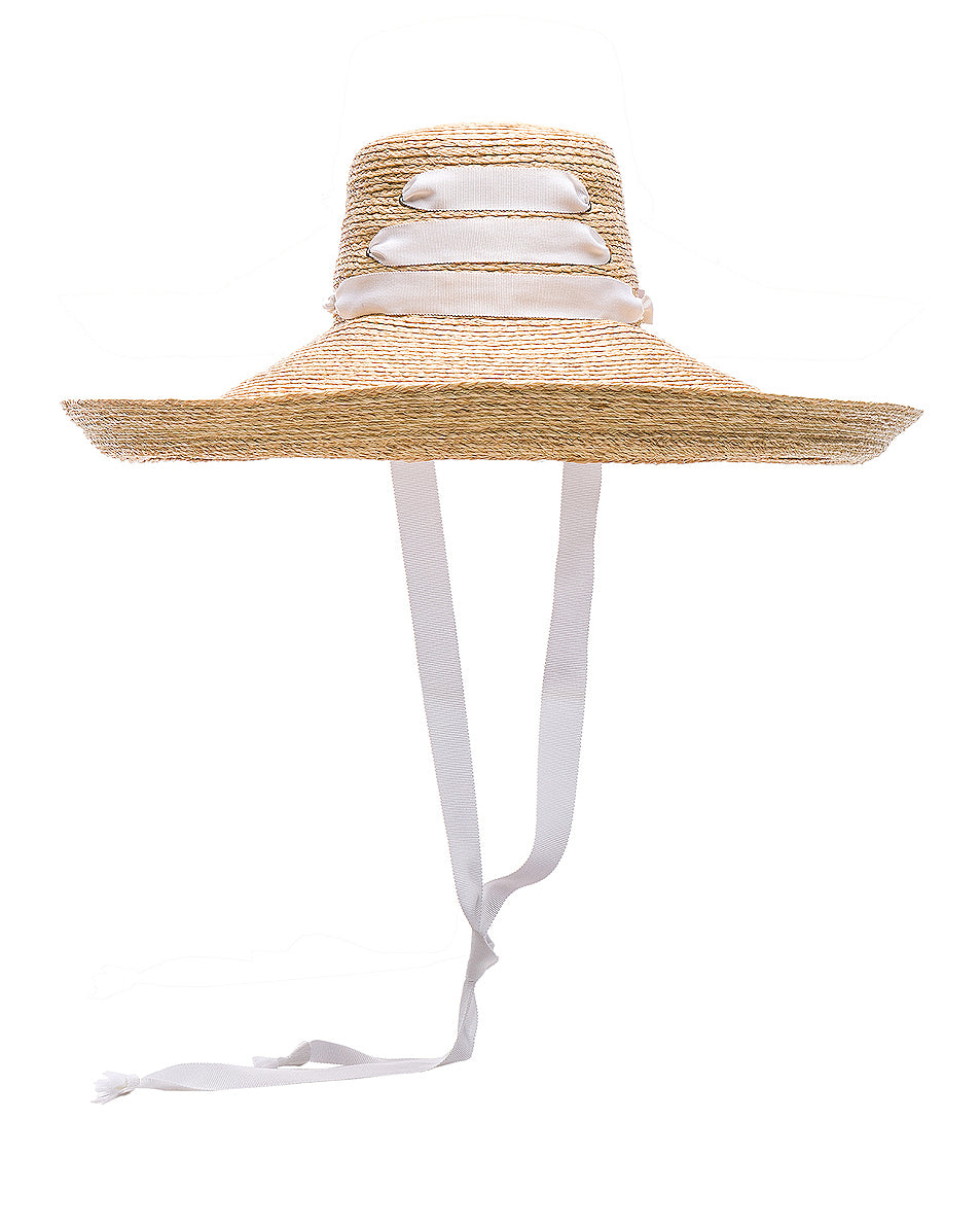 Espartina Hat - White , LOLA HATS - Moda Boheme