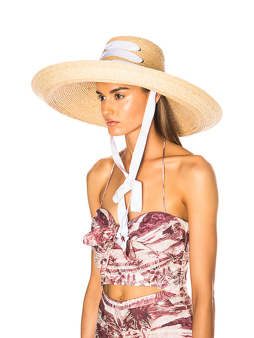 Espartina Hat - White