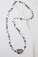Diamond Nugget 12 CT Necklace