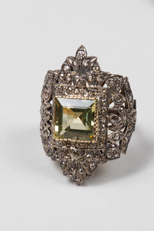 Diamonds & Citrine Ring , BOHEME FINE JEWELRY - Moda Boheme
